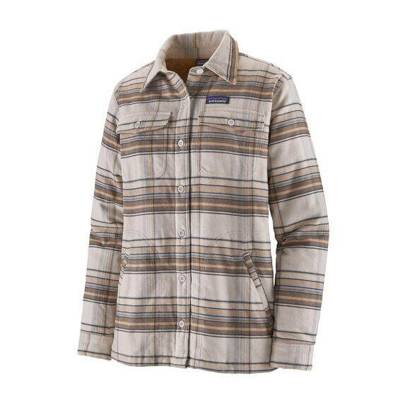 W's Insulated Fjord Flannel Jacket | Patagonia Bend