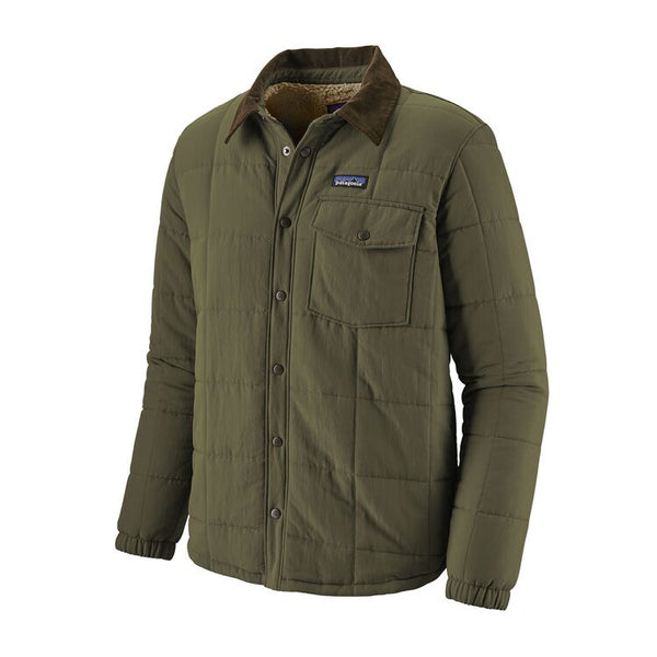 M's Isthmus Quilted Shirt Jacket - Patagonia Bend