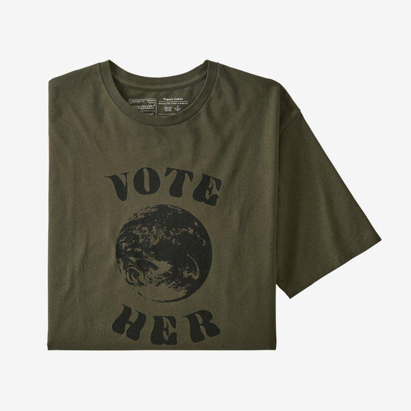 M's Vote Her Organic T-Shirt | Patagonia Bend