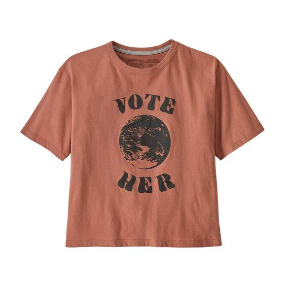 W's Vote Her Organic Easy Cut Tee | Patagonia Bend