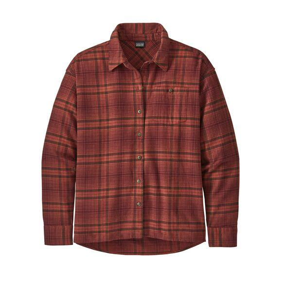 W's Driving Song Flannel Shirt - Patagonia Bend