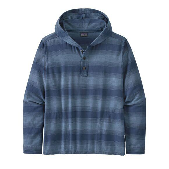 M's Lightweight Fjord Flannel Hoody - Patagonia Bend