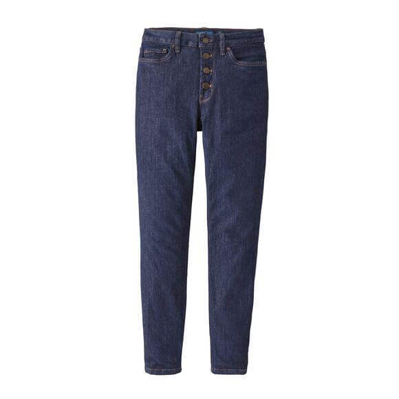W's Button Front Slim Denim - Patagonia Bend