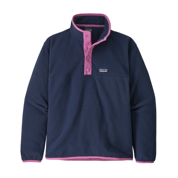 GirLong Sleeved' Micro D Snap-T P/O | Patagonia Bend