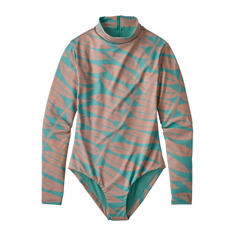 W's Long-Sleeved Swell Seeker 1pc Swimsuit - Patagonia Bend