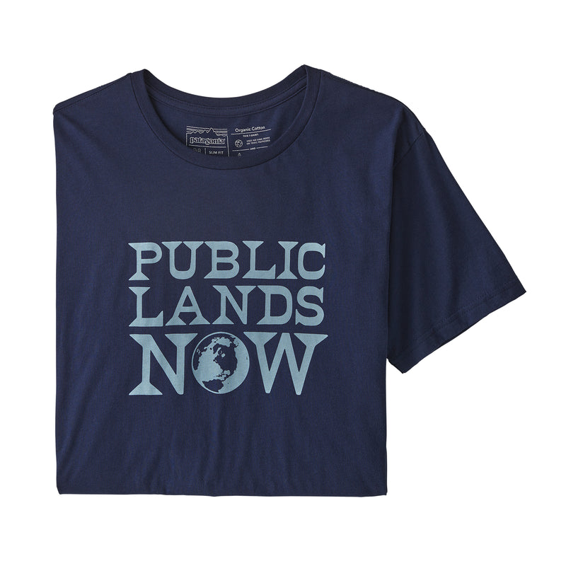 M's Public Lands Now Organic Cotton T-Shirt - Patagonia Bend