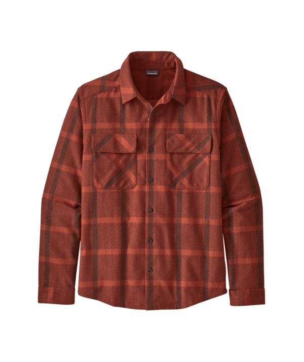 M's L/S Recycled Wool Shirt | Patagonia Bend