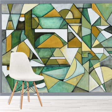 Geometric Wallpaper & Mural