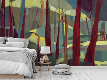 Fall Wildfires Wallpaper & Mural