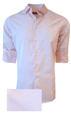Temecula 24023 -020 Mens Long Sleeves Garment Dyed Pale Pink