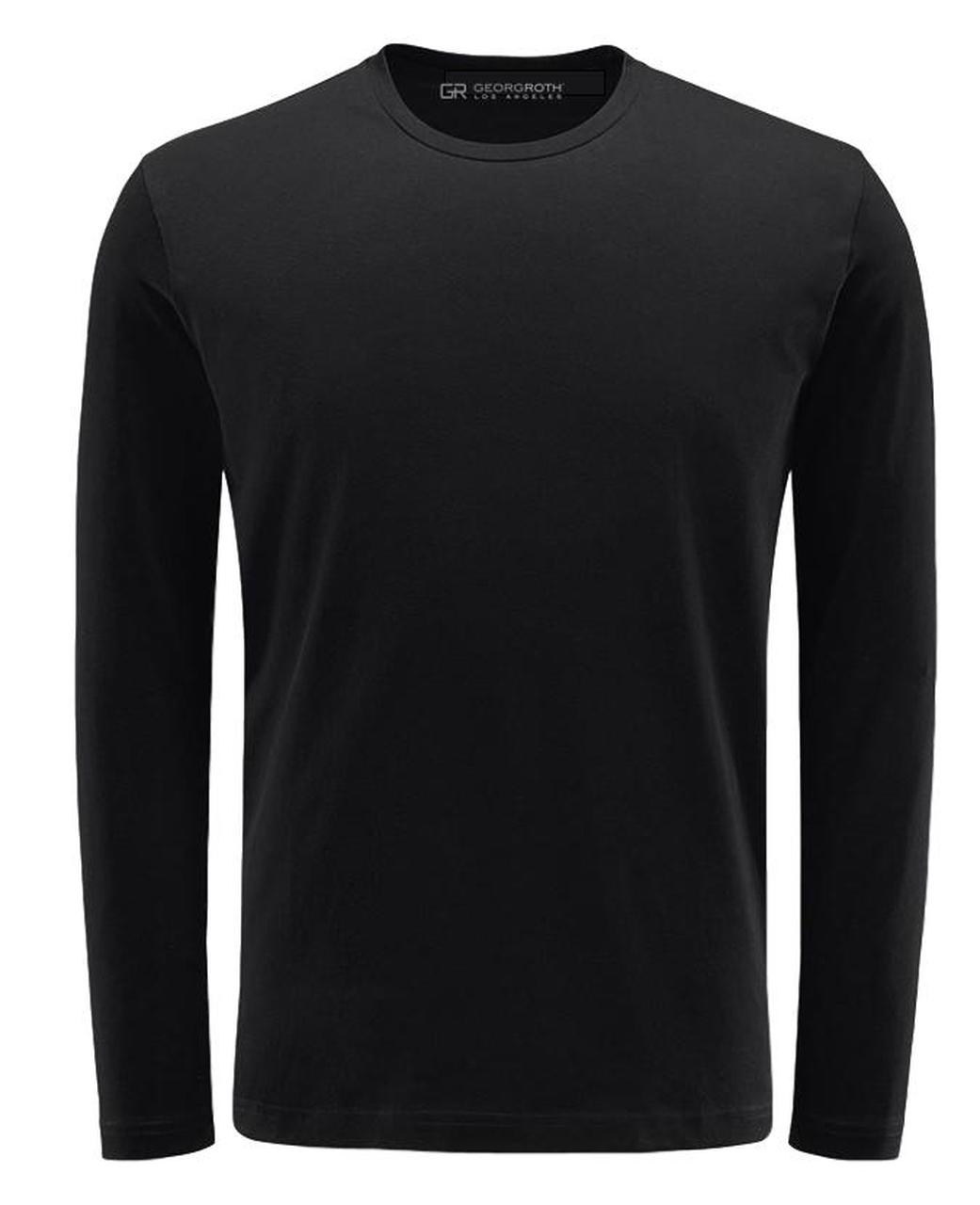 Luxury Crew-Neck Long Sleeves Pima Cotton TCLS-1013