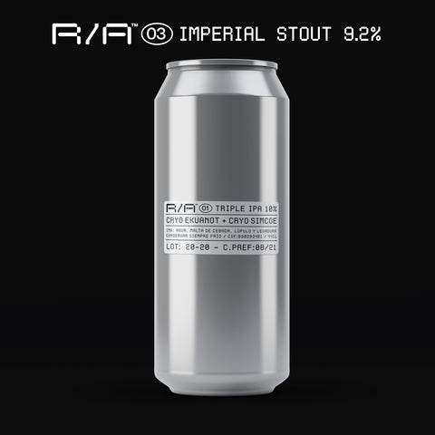 R/A 03 - PASTRY IMPERIAL STOUT - 9.2%  // 4-PACK