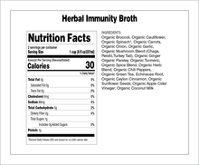 Load image into Gallery viewer, Coconut Turmeric Herbal Immunity Broth