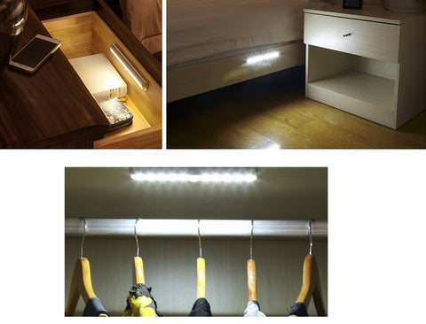 LED Motion Sensor Lights for cupboards, closets, cabinets and more!