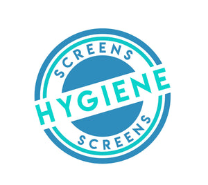 Square Hygiene Screens - X-Large 800mm x 800mm