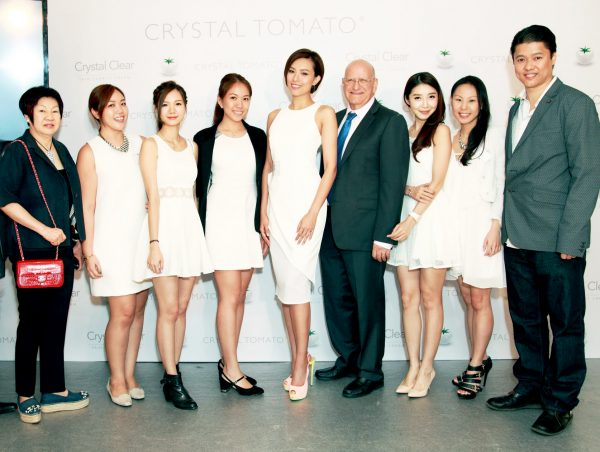 Crystal Tomato® launch event in Hong Kong