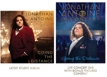 Load image into Gallery viewer, Jonathan antoine Going the Distance CD and DVD Boxed Set