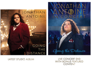 Jonathan antoine Going the Distance CD and DVD Boxed Set