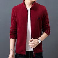 Men's Jacket / Winter Fashion Slim Fit Thick Velvet Wind Breaker - Lillie