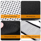 High Elastic Belted Knee Guard / Self Heating Tourmaline Magnetic Therapy Knee Brace Sleeves -01 pair/2pcs-Lillie - Lillie