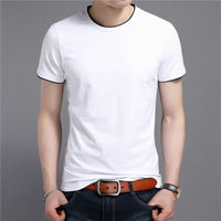 Summer Short Sleeve T-Shirt for Men / Soft Cotton T-Shirt - Lillie