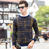 Men's Sweaters /  Autumn Winter Soft Warm Striped Pullover Sweater - Lillie
