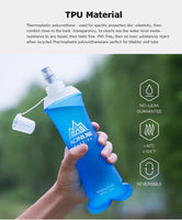 Soft Flask Water Bottle/  Folding Collapsible Water Bags - Lillie