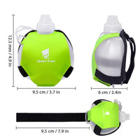 Portable Sports Water Bottle / Portable Wrist Camping Water Bottle / Lightweight Hiking Drink Bag / Outdoor Survival Equipment Hydration Pack - Lillie