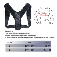 Adjustable Back Posture Corrector - Lillie