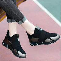 Women Sneakers / Vulcanized Shoes for  Ladies / Casual Breathable Walking Mesh Flats Shoes for women - Lillie