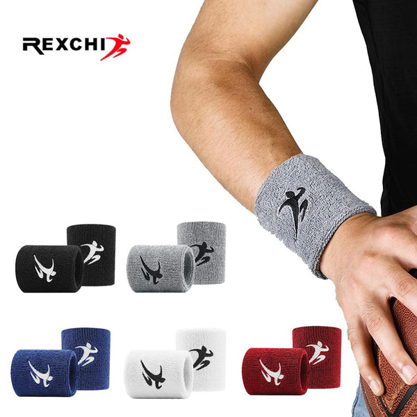 Wristbands / Cotton Elastic Wristbands, Gym Fitness Gear Support Power Weightlifting Wrist Wraps - Lillie