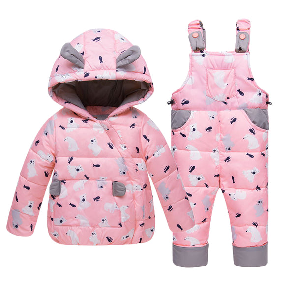 Kids Winter Jacket/Little Girl/Boy Hooded Outfits /Coat - Lillie