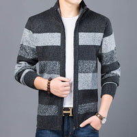 Men's Sweaters / Slim Fit Warm Knitted Jumpers - Lillie
