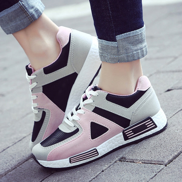 Women fashion casual shoes/  woman canvas sneakers /Vulcanized shoe woman - Lillie