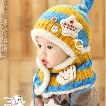Baby Winter hat scarf /Ear Protector cap - Lillie