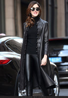 Women's Long Leather jackets/ Coats - Lillie