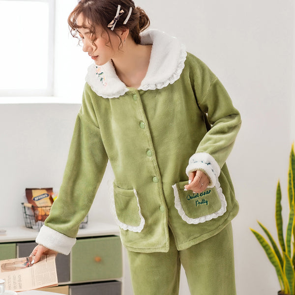 Women Sleepwear/ Quality flannel Pajamas for women - Lillie
