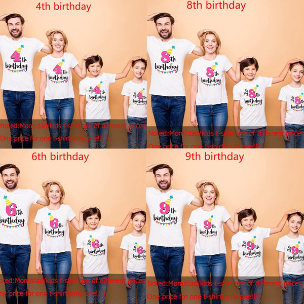 Birthday T-Shirts - Lillie
