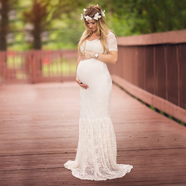 Maternity Dresses /Pregnancy Gown - Lillie