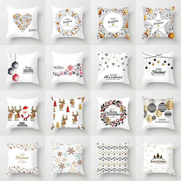 Christmas Cushion Cover - Merry Christmas Decoration Pillowcases - Lillie