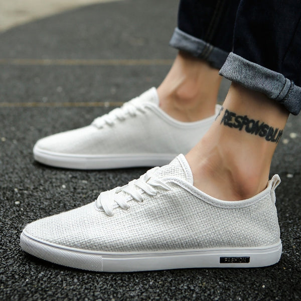 Men Shoes / Vulcanize Non-leather Casual Sneakers - Lillie