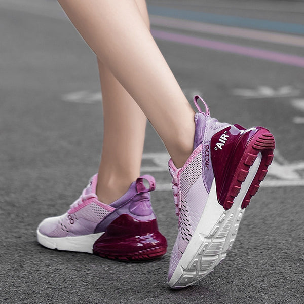 270 Model Outdoor Sports Casual Shoes for women /  Slope Heel Comfortable Ventilated Flat Shoes For Women - Lillie