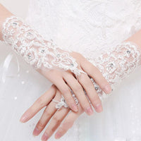 Women Lace Gloves - Lillie