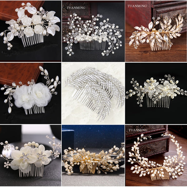 Bridal Headdresses - Lillie