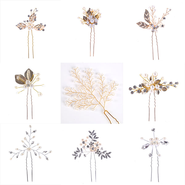 Bridal  Hairpins - Lillie