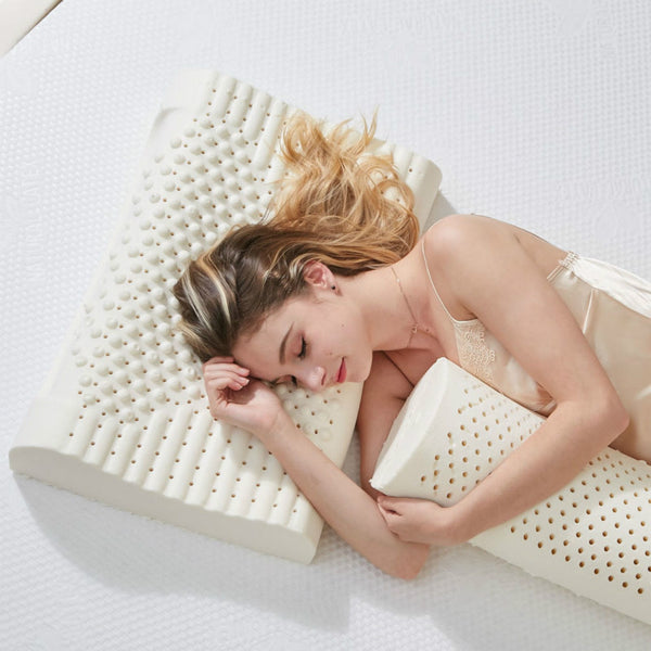 Latex Natural Neck Pillow - Lillie