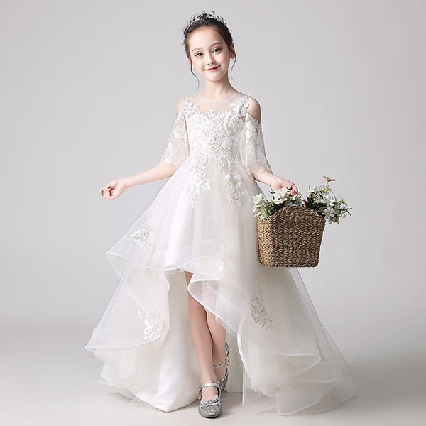 Flower Girl Dress / Wedding Party Gown - Lillie