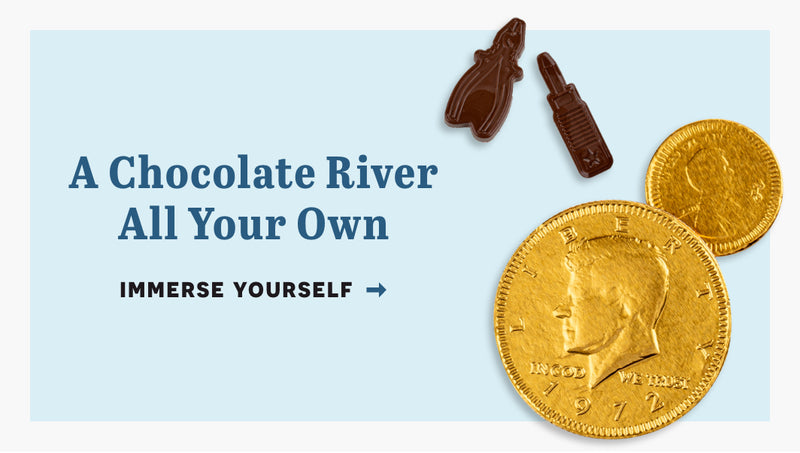 A chocolate river all of your own. click here to immerse yourself