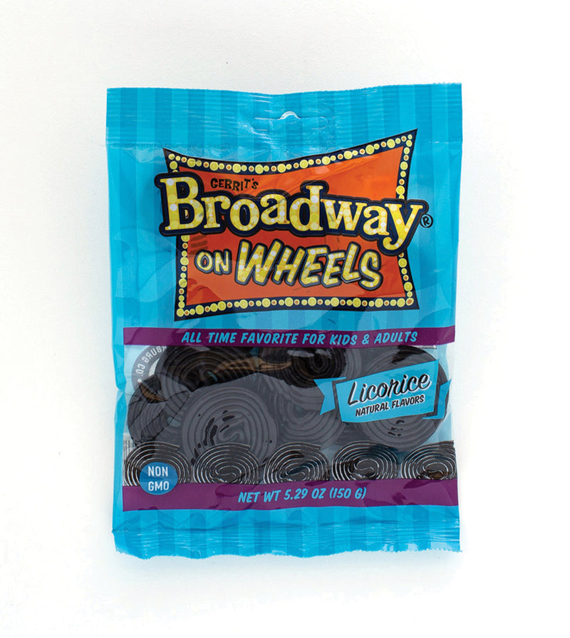 Gerrit's Broadway on Wheels Licorice