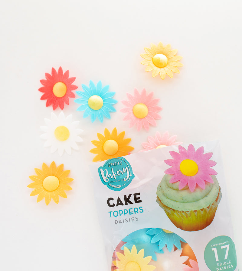 Gerrit's Top This! Cake Toppers Daisies